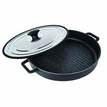 MasterPan Non-Stick Stovetop Oven Grill Pan with Heat-in Steam-Out Lid, ... - $80.99