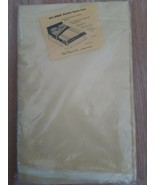 Vintage Sibyl Shepard Nite Spread Washable Blanket Cover Yellow 72 x 90 ... - $32.62