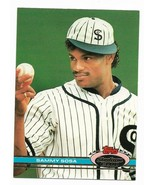 1991 Topps Stadium Club Chicago White Sox Team Set with Sammy Sosa - $1.70