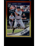 2018 Donruss Optic Red and Yellow #114 Aaron Judge - NM-MT - $2.48