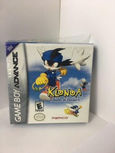 GBA Klonoa Empire Of Dreams ORIGINAL BOX & MANUAL ONLY No Game