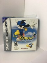 GBA Klonoa Empire Of Dreams ORIGINAL BOX & MANUAL ONLY No Game - $135.45