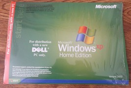 DELL Microsoft Windows XP Home Edition Reinstallation CD Version 2002 Ne... - $9.49