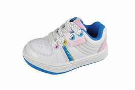 Toddler Girls white/pink/blue shoes Size 4,6 ,7 or 9 brand New choose 1 - $10.00