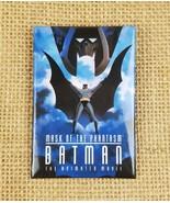 "Vintage Batman ""Mask of the Phantasm"" the animated movie promo pin butto... - $11.83"