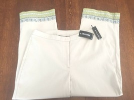 Express Women's Casual Cropped Pants Slacks, Stretch, Size 4, NWT ($50) - $18.00