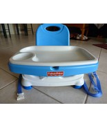 BOOSTER CHAIR Fisher Price Healthy Care Portable B7275 Lots of Life left! - $17.54