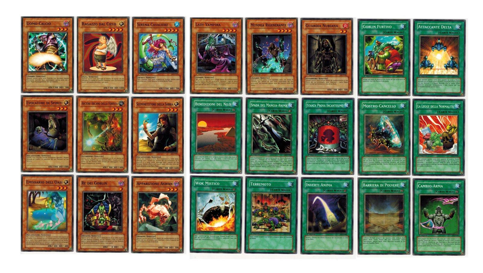 Yu-Gi-Oh TCG Ancient Sanctuary Lot 24 Cards Italian Ed. - $5.00