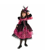 Posh Fashionista Fuchsia/Black Deluxe Victorian Witch Princess w/Mini Hat Rubies - £25.97 GBP