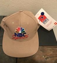 Nike Sports Hat Specialties Nbc Sports Olympics Tan Khaki Hat Adjustable - £15.56 GBP