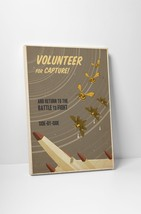 """Volunteer For Capture by Steve Thomas Gallery Wrapped Canvas 16""""x20"""" - $44.50"""