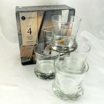 Libbey Perfect Bourbon Tumblers 8.5oz Lowball Spirit Whiskey Glasses ~ Set of 4 - $21.95