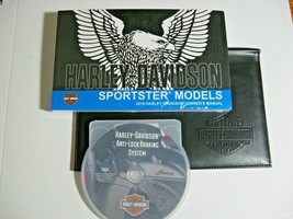2018 Harley-Davidson XL Sportster Owner's Owners Manual NEW w/ Lthr Cover & DVD! - $64.35