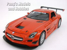 Mercedes-Benz SLS AMG GT3 1/24 Scale Diecast Model by Motormax - RED - $29.69