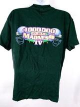 100,000 Football Madness IV Men's T-Shirt XL Graphic Short Sleeve Black - $0.98