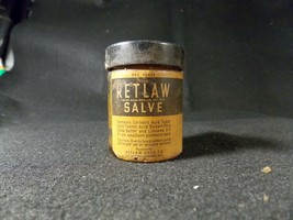 Vintage Glass Jar (One Ounce) of Retlaw Salve - $13.09
