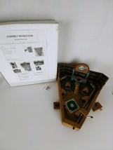 Table Top Wooden Baseball Diamond Pinball Set 13 x 12 Inches Game - $14.00