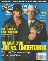 "2004 Smackdown Magazine Sept Issue : ""JBL vs Undertaker"" Cover NO Poster... - $7.91"