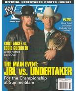 """2004 Smackdown Magazine Sept Issue : """"JBL vs Undertaker"""" Cover NO Poster... - $7.91"""