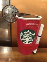 Starbucks Create Your Own Red Traveler New Holiday 2016 - $49.49