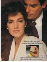 1986 COTY Emeraude I love only one man print ad  - $9.99
