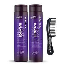 Joico Color Balance Purple Shampoo 10.1 fl oz + Purple Conditioner 10.1 ... - $37.62
