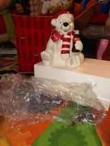 New in box christmas coca cola polar bear cookie jar decoration coke - $24.99