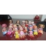 10 pc Barbie Kelly Doll Caual Accessories (doll+clothes) For 11CM play h... - $17.56