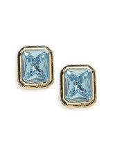 Lauren Ralph Lauren Gold-Tone Rectangular Stone Clip-On Earrings  $14.99 - $14.84