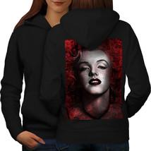 Marilyn Monroe Wellcoda Sweatshirt Hoody Female Beauty Women Hoodie Back - $21.99+