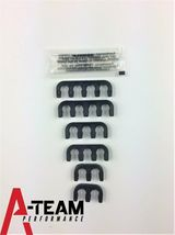 A-TEAM AMC JEEP 6 CYLINDER 232 258 56-88 INLINE 6 RED HEI 8MM SPARK PLUG WIRES image 5
