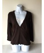 Carolyn Taylor Womens Shirt Top  Small 100% Cotton - $10.88