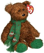 TY Beanie Baby - SEASON'S GREETINGS the Bear (Hallmark Gold Crown Exclus... - $8.99