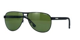 Chopard Aviator Sonnenbrille Sch B80 531P Matt Schwarz/Grün Spiegel Pola... - $193.02