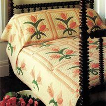 Best Loved AppliqueTulip Garden Quilt Pattern Flexible Plastic Template - $9.99