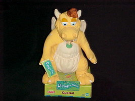 """12"""" Quetzal Plush Toy With Box & Tags Dragon Tales By Hasbro Playskool From 2000 - $148.49"""