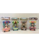 Bobblehead Toys-Solar-Dancing - Lot of (4)-TACO, HOTDOG, COFFEE & FRUIT ... - $16.78