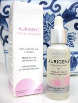 AURIGA WRINKLE Micro SERUM  with Hyaluronic Acid Triple action, 15 ml - $51.47