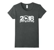 Great Pyrenees 2018 Year Of The Dog New Year T-Shirt v2 - $19.99+
