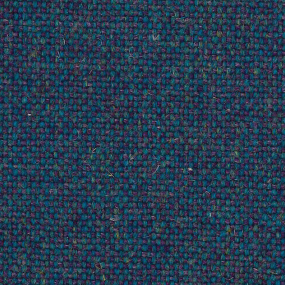 2 yds Camira Upholstery Fabric Main Line Flax Russell Purple and Blue MLF38 BE
