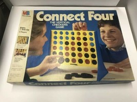 Vintage 1987 Milton Bradley CONNECT FOUR Checkers Game! in Original Box ... - $19.79
