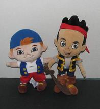 Jake and the Neverland Pirates JAKE & CUBBY Plush Stuffed Toys - $19.98
