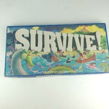Vintage 1982 Parker Brothers Survive! Board Game Sea Full of Dangers inc... - $14.84