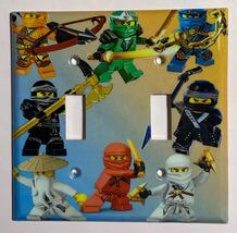 Ninjago Ninja characters Light Switch Outlet wall Cover Plate Home decor image 4