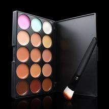 2IN1 15 Colors Concealer  Facial Face Cream Care Camouflage Makeup Base Palettes - $3.98+
