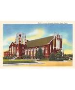 WACO, TX Texas   AUSTIN AVENUE METHODIST CHURCH  McLennan Co  c1940's Po... - $3.17