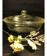 "Vintage Glasbake Casserole Oval Dish ""Poppys"" Excellent Vintage Condition - $39.59"