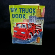 My Truck Book 1960 Childrens Vintage Book Rand McNally Junior Elf Hardcover - $12.99