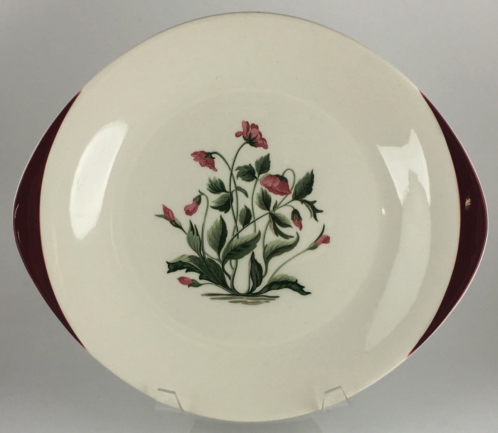 Primary image for Wedgwood MAYFIELD Ruby handled cake plate (SKU EC 222) FREE SHIPPING