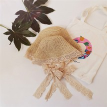 Straw Hat Women Summer Beach Sun Straw Hat Floppy Elegant Bohemia Cap St... - $11.65